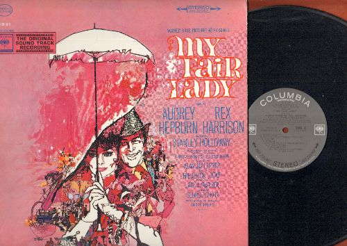 My Fair Lady - My Fair Lady - Original Motion Picture Sound Track (vinyl STEREO LP record, gate-fold cover) - NM9/EX8 - LP Records