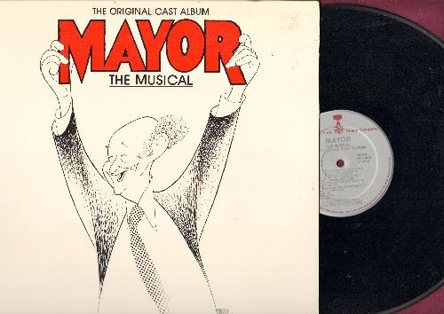 Mayor - Mayor - The Musical - Original cast Album (vinyl STEREO LP record, gate-fold cover) - NM9/NM9 - LP Records