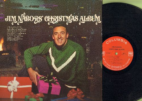 Nabors, Jim - Jim Nabor's Christmas Album: Do You Hear What I Hear?, Jingle Bells, White Christmas, Sleigh Ride, I'll Be Home For Christmas (Vinyl STEREO LP record) - EX8/EX8 - LP Records