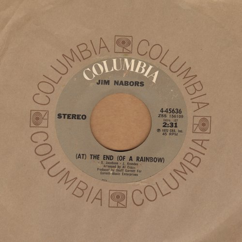 Nabors, Jim - The End (At The End Of A Rainbow)/It Won't Hurt To Try It - EX8/ - 45 rpm Records