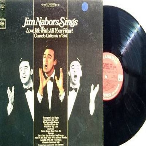Nabors, Jim - Jim Nabors Sings: Love Me With All Your Heart, The Impossible Dream, Strangers In The Night, Somewhere My Love (Vinyl STEREO LP record) - NM9/EX8 - LP Records