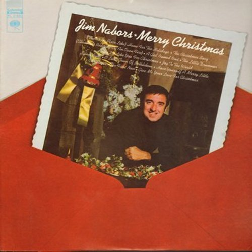 Nabors, Jim - Merry Christmas: Home For The Holidays, The Christmas Song, The First Noel, Silver Bells (Vinyl STEREO LP record) - NM9/EX8 - LP Records