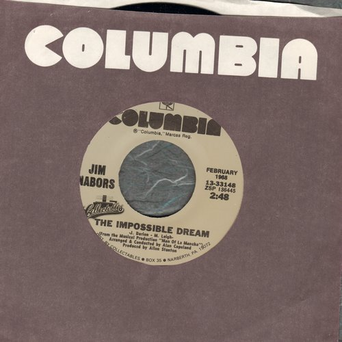 Nabors, Jim - The Impossible Dream (featured on TV Show -Gomer Pyle, USMC)/Time After Time (re-issue) - NM9/ - 45 rpm Records