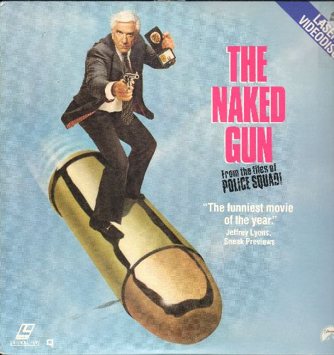The Naked Gun - The Naked Gun - LASERDISC version of the Comedy Classic starring Leslie Nielsen. - NM9/EX8 - LaserDiscs