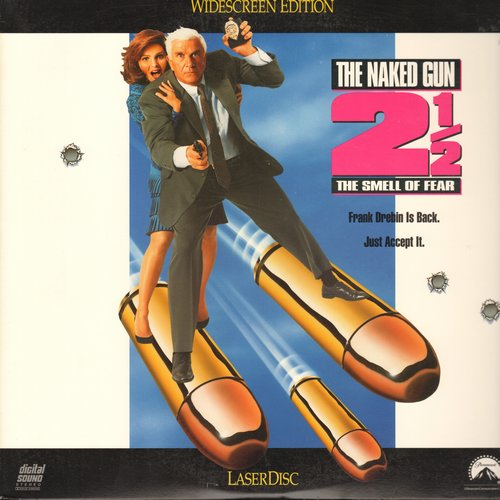 Naked Gun 2 1/2, The - The Naked Gun 2 1/2 - Widescreen LASERDISC Version of the Comedy Classic starring Leslie Nielsen and Precilla Presley (This is a LASERDISC, not any other kind of media!) - NM9/NM9 - LaserDiscs