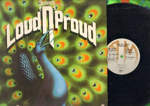 Nazareth - Loud'n'Proud: Go Down Fighting, Not Faking It, Freewheeler, This Flight Tonight, Child In The Sun (vinyl STEREO LP record, 1973 first pressing) - VG7/VG7 - LP Records