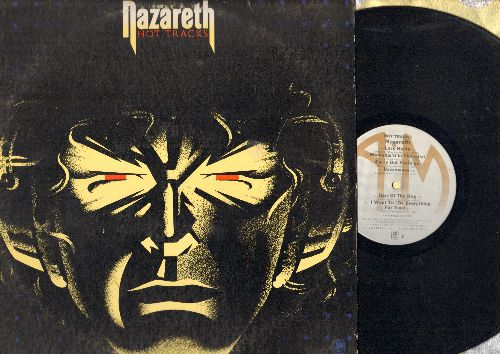 Nazareth - Hot Tracks: Love Hurts, Hair Of The Dog, Broken Down Angel, Go Down Fighting (vinyl STEREO LP record) - EX8/VG7 - LP Records