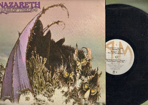 Nazareth - Hair Of A Dog: Love Hurts, Changin' Time, Please Don't Judas Me (vinyl STEREO LP record) - EX8/EX8 - LP Records