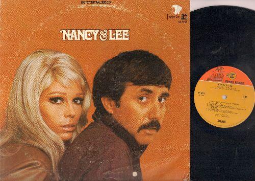 Sinatra, Nancy & Lee Hazelwood - Nancy & Lee: Some Velvet Morning, Jackson, Lady Bird, You've Lost That Lovin' Feelin'. Storybook Children (vinyl STEREO LP record) - EX8/VG7 - LP Records