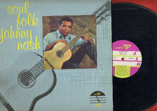 Nash, Johnny - Soul Folk: You Got Soul, Love Me Tender, Blowing In The Wind, Chain Gang, Twelfth Of Never (vinyl STEREO LP record, unique 3-D picture on cover, DJ advance pressing) - NM9/VG7 - LP Records