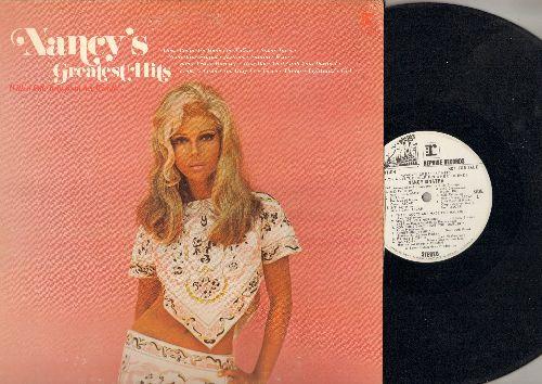 Sinatra, Nancy - Nancy's Greatest Hits: Some Velvet Morning, You Only Live Twice, Something Stupid, Jackson, Sugar Town (Vinyl STEREO LP record, DJ advance pressing) - VG7/VG7 - LP Records