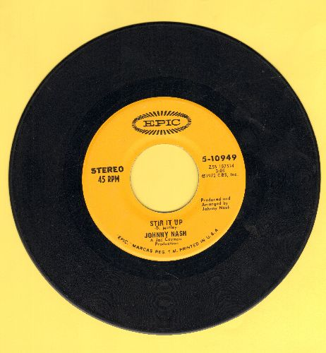 Nash, Johnny - Stir It Up/Ooh Baby You've Been Good To Me - EX8/ - 45 rpm Records