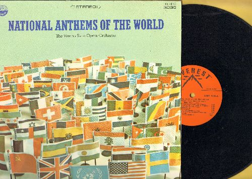 Vienna State Opera Orchestra - National Anthems Of The World - includes the Anthems of 19 different Nations (vinyl STEREO LP record) - NM9/NM9 - LP Records