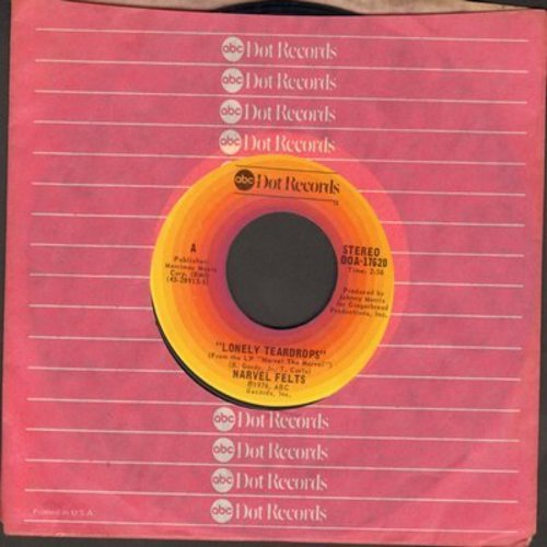 Felts, Narvel - Lonely Teardrops/I Remember You - EX8/ - 45 rpm Records