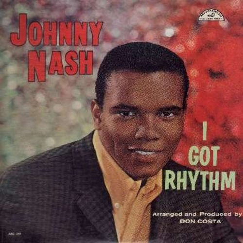 Nash, Johnny - I Got Rhythm: You're Driving Me Crazy, Jeepers Creepers, And The Angels Sing, Looking For A Girl (Vinyl MONO LP record) - EX8/EX8 - LP Records