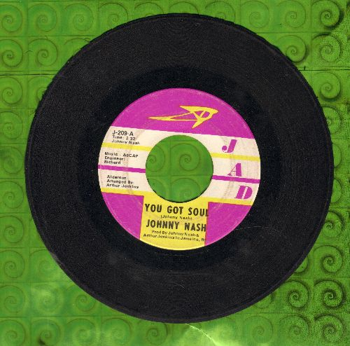 Nash, Johnny - You Got Soul/Don't Cry - EX8/ - 45 rpm Records