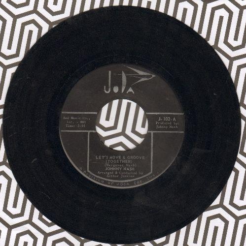 Nash, Johnny - Let's Move & Groove (Together)/Understanding (black label first pressing) - EX8/ - 45 rpm Records