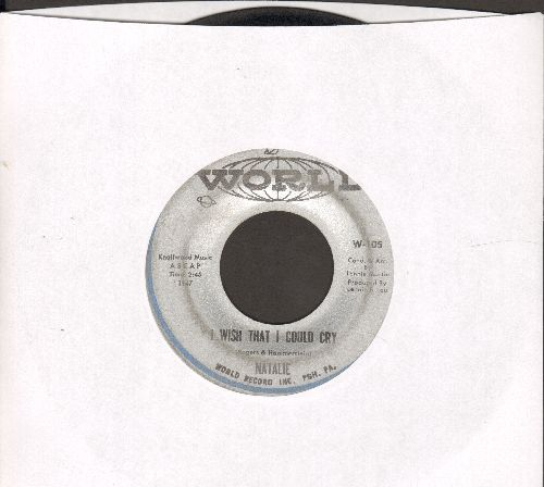 Natalie - I Wish I Could Cry/Two Horses In Love - G5/ - 45 rpm Records