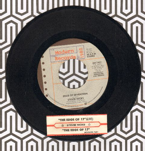 Nicks, Stevie - Edge Of Seventeen (Just Like A White Winged Dove) (long and short version with juke box label) - EX8/ - 45 rpm Records