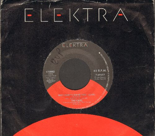 Cars - Why Can't I Have You/Breakaway (with Elektra company sleeve (minior wol) - NM9/ - 45 rpm Records