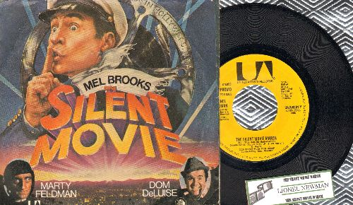 Newman, Lionel - The Silent Movie March (double-A-sided DJ advance copy with juke box label and picture sleeve) - EX8/EX8 - 45 rpm Records