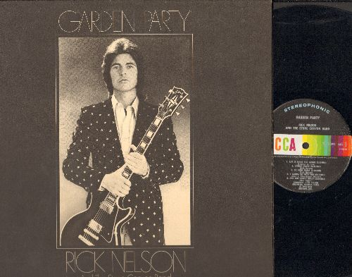 Nelson, Rick - Garden Party: I Wanna Be With You, Don't Let Your Good-Bye Stand, Palace Guard (Vinyl STEREO LP record, gate-fold cover) - NM9/EX8 - LP Records