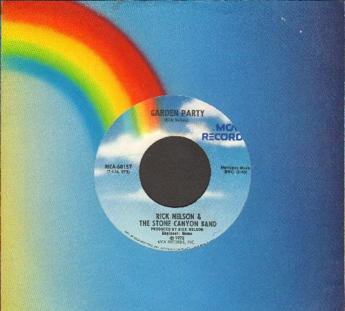 Nelson, Rick - Garden Party/So Long Mama (re-issue with juke box label and MCA company sleeve) - NM9/ - 45 rpm Records