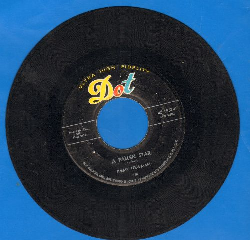 Newman, Jimmy - A Fallen Star/I Can't Go On This Way - VG6/ - 45 rpm Records