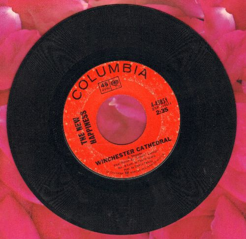 New Happiness - Winchester Cathedral/I'm Gonna Spoil You Baby - VG7/ - 45 rpm Records