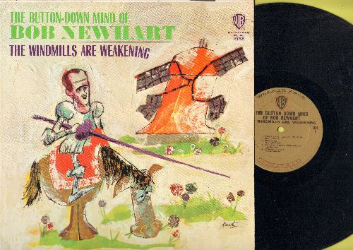 Newhart, Bob - The Windmills Are Weakening: Bob Newhart attacks King King, Superman and most other stuff (vinyl MONO LP record) - NM9/NM9 - LP Records