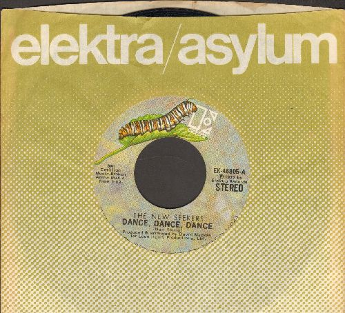 New Seekers - Dance, Dance, Dance/I Can Say You're Beautiful (with Elektra company sleeve) - NM9/ - 45 rpm Records