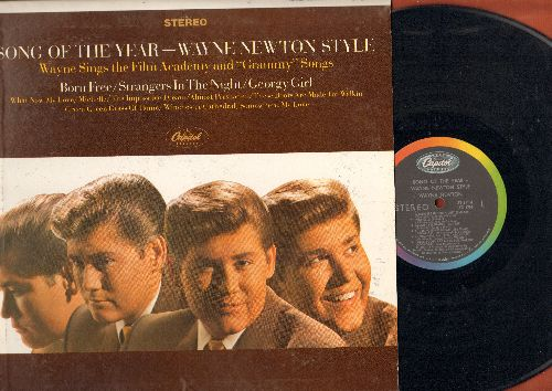 Newton, Wayne - Song Of The Year: Strangers In The Night, Michelle, The Impossible Dream, These Boots Are Made For Walkin', Georgy Girl, Born Free (Vinyl STEREO LP record) - NM9/NM9 - LP Records