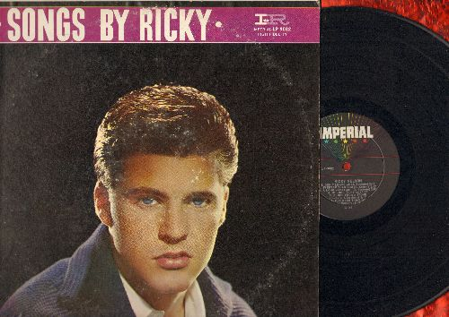 Nelson, Rick - Songs By Ricky: Don't Leave Me, Sweeter Than You, You're So Fine, That's All (Vinyl MONO LP record) - VG7/VG7 - 45 rpm Records