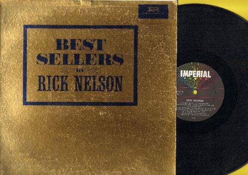 Nelson, Rick - Best Sellers By Rick Nelson: Be Bop Baby, Believe What You Say, That's All, Poor Little Fool, Lonesome Town, Teenage Doll (Vinyl MONO LP record, multi-color star label) - NM9/EX8 - LP Records