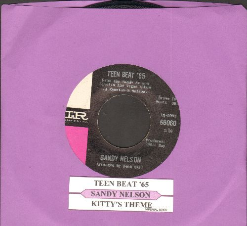 Nelson, Sandy - Teen Beat '65/Kitty's Theme (with juke box label) - NM9/ - 45 rpm Records