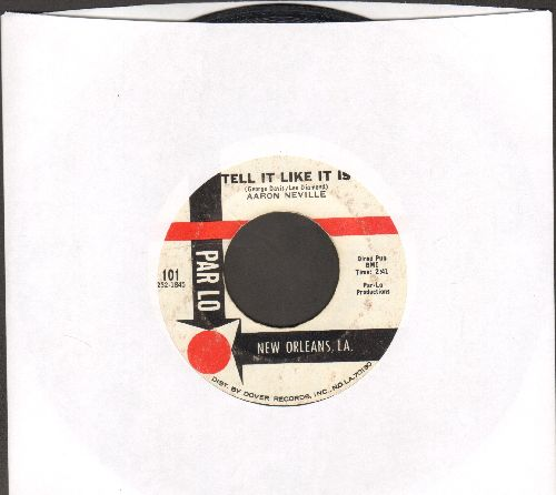 Neville, Aaron - Tell It Like It Is/Why Worry  - VG7/ - 45 rpm Records