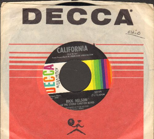 Nelson, Rick - California/Life (with Decca company sleeve) - NM9/ - 45 rpm Records
