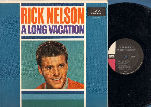 Nelson, Rick - A Long Vacation: Honeycomb, I Can't Stop Loving You, Unchained Melody, It's All In The Game, Mad Mad World (Vinyl MONO LP record, NICE condition!) - EX8/EX8 - LP Records