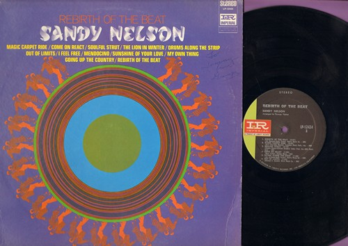 Nelson, Sandy - Rebirth Of The Beat: Magic Carpet Ride, Come On React, Out Of Limits, Mendocino (Vinyl STEREO LP record) - NM9/EX8 - LP Records