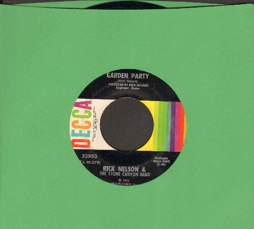 Nelson, Rick - Garden Party/So Long Mama  - NM9/ - 45 rpm Records