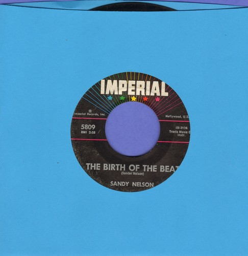 Nelson, Sandy - The Birth Of The Beat/Drums Are My Beat - EX8/ - 45 rpm Records