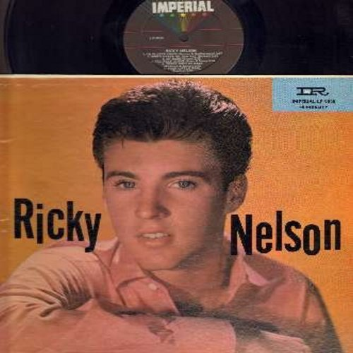 Nelson, Rick - Ricky Nelson: Unchained Melody, Poor Little Fool, I'm In Love Again, Someday, There's Good Rockin' Tonight, There Goes My Baby (Vinyl MONO LP record, black label, multi-color logo, NICE condtion!) - VG7/VG6 - LP Records