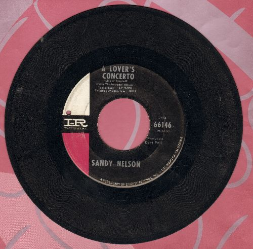 Nelson, Sandy - A Lover's Concerto/Treat Her Right (bb) - VG7/ - 45 rpm Records
