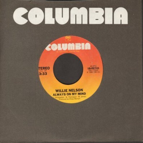 Nelson, Willie - Always On My Mind/The Party's Over - EX8/ - 45 rpm Records
