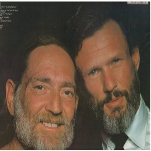 Nelson, Willie - Willie Nelson Sings Kristofferson: Me And Bobby McGee, Sunday Morning Comin' Down, Help Me Make It Through The Night (Vinyl STEREO LP record) - EX8/EX8 - LP Records