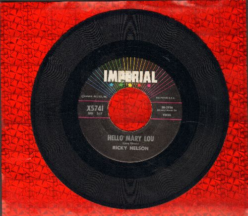 Neville, Aaron - Tell It Like It Is/Why Worry (with juke box label) - VG7/ - 45 rpm Records