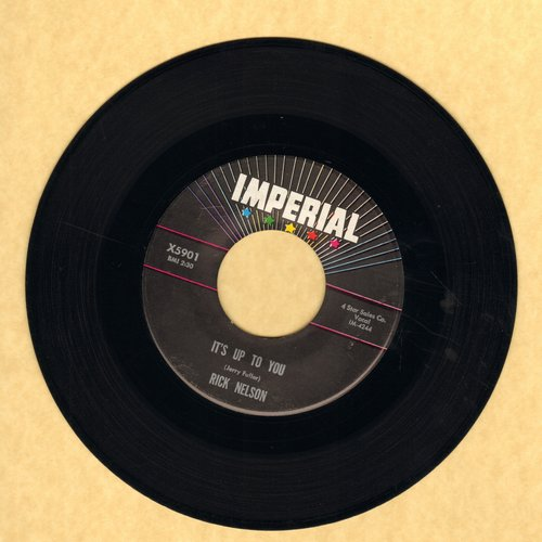 Nelson, Rick - It's Up To You/I Need You  - EX8/ - 45 rpm Records