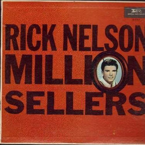 Nelson, Rick - Million Sellers: Hello Mary Lou, Young Emotions, It's Late, Yes Sir That's My Baby, Travelin' Man (Vinyl MONO LP record, black/pink label) - EX8/EX8 - LP Records