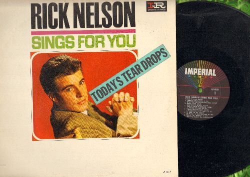 Nelson, Rick - Rick Nelson Sings For You: Today's Teardrops, Lucky Star, Be True To Me, Congratulations (vinyl MONO LP record) - EX8/EX8 - LP Records