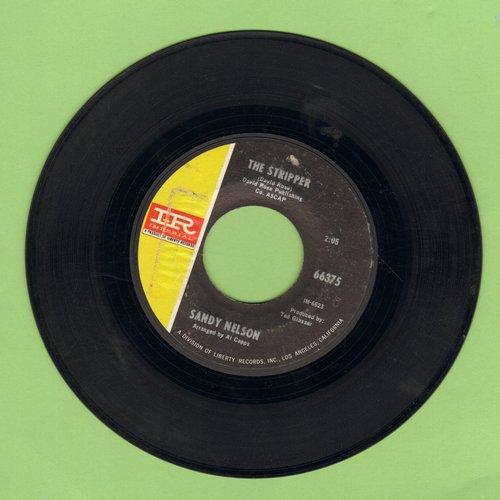 Nelson, Sandy - The Stripper/Manhatten Spiritual  - EX8/ - 45 rpm Records